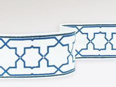 Trimmimgs, Embroidered Fabric Border / Trim for Pillows, Lampshades, or Curtains, Jim Thompson