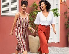 The linen-look: Summer 2019's hottest trend - Ackermans Magazine Paperbag Pants, Work Wear, Harem Pants, Fashion Beauty, Bell Sleeves, Tees, Hot, Casual, Summer