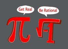 Pi Be Rational, i Get Real T-Shirt | SnorgTees