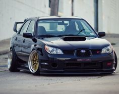 Subaru Impreza (MK2) Sedan (Hawkeye) | Tuning Cars