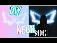 DIY Room Decorations: Tumblr Inspired Sign! - YouTube