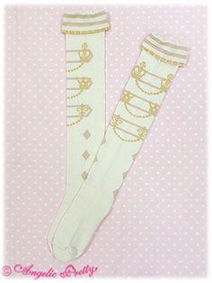 Angelic Pretty / Socks / Royal Queen OTK Socks