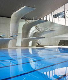Zaha Hadid London Olympiade 2012 Aquatic Centre