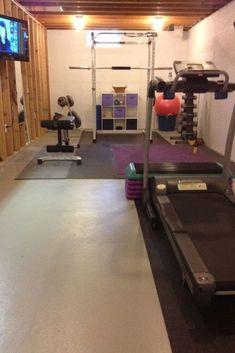 Best home gym diy basement bedrooms 38 Ideas Home Gym Basement, Home Gym Garage, Basement Bedrooms, Basement Renovations, Basement Ideas, Basement Plans, Basement Workout Room, Basement Layout, Basement Ceilings