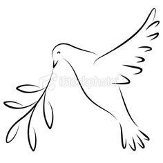 peace dove - paint on Toms?