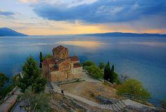 Beautiful Ohrid, Macedonia. I love it there!