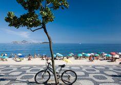 Bike # Ipanema , Rio de Janeiro, Brazil