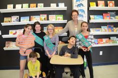 Girl Scout Troop 20070 created sensory story book kits for our Horizon School