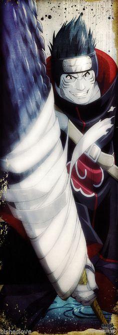 Naruto Shippuden Kisame Akatsuki Poster Portrait Anime Official Japan | eBay