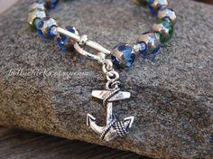 $14 #jewelry #style #fashion #anchor #bracelet #etsy #womens #celebrity