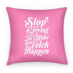 Stop Trying to Make Fetch Happen \