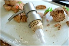 Camelot Art Creations: DIY Soap Pump Conversion - Love the shape of Patron bottles, soap and lotion dispenser