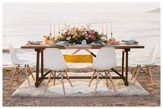 California Wedding Inspiration: Marbled Beauty By The Sea
