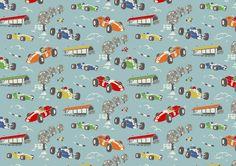 Racing Car fabric by Cath Kidston