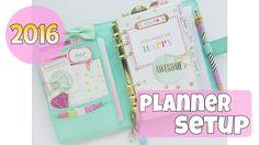 2016 Kikki.k Planner Setup
