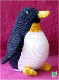 Вязаный пингвин спицами схема и описание
