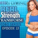 Hello FitnessRx ladies! Welcome to my thirteenthReal Strength TRANSFORM video, brought to you by Divine Nutrition. In today's arm training video, I focus on the biceps. I demonstrate a giant set including seated, lying and standing exercises that hit...