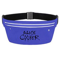Womens Waterproof Alice Cooper Logo Waist Bag ** You can find more details by visiting the image link.