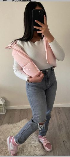Girl Outfits, Fashion Outfits, Girl Things, Simple Outfits, Baddie, Selfies, Winter Fashion, Ootd, Skinny Jeans