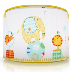 nursery elephant lamp shade - Google Search