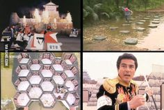 Miss this, so much better than Wipeout. Funny Photos, Best Funny Pictures, Takeshi's Castle, Music Tv, Make Me Smile, Old School, Nerdy, Nostalgia, Childhood