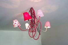 Lampes colorées et chaleureuses