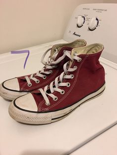 Converse on Mercari Converse Fashion, Converse Style, Sneakers Fashion, Chuck Taylor Sneakers, Chuck Taylors, Shoes, Zapatos, Shoes Outlet, Shoe