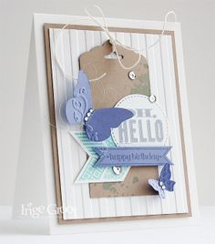 Stampin' Up! Birthday by Stampin' Cards And Memories: Oh, Hello!