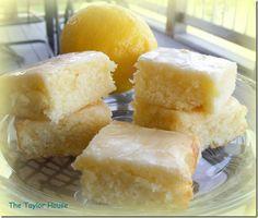 Lemon Poke Cake Dessert Recipe