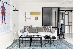 Hauvette & Madani architectes - Projet Peterhof Paris    Romain Ricard pour Elle Décoration