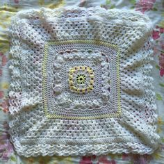 Heirloom blanket crochet