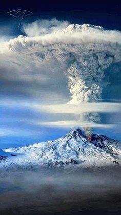 #Volcano #nature #gif