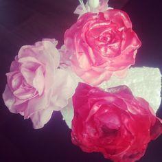 Wafer paper flowers, esspapier Blumen