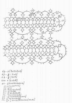 mat/table runner/doily pattern (klk.pp.ru)