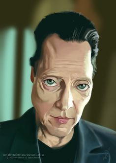 [ Christopher Walken ] - artist: Steve Roberts - website: http://www.steverobertscaricatures.co.uk
