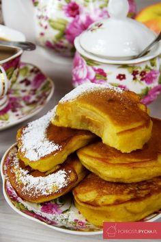 Jabłka wcieście dyniowym Pancakes, Food And Drink, Sweets, Apple, Drinks, Breakfast, Gastronomia, Apple Fruit, Drinking