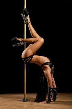 Pole Dance Poses - Michelle Shimmy