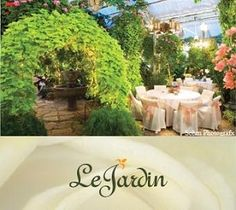 Le Jardin - Le Jardin's exquisite gardens, enchanting water features and beautiful elegance provide a memorable year-round setting for your wedding, reception and rehearsal dinner.