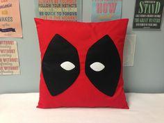 Deadpool Red Superhero Cushion Cover Comic Retro Novelty X-men Pillow Marvel