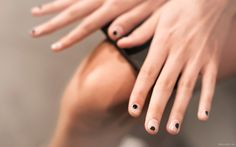 adam selman madeline poole sally hansen nail polish art fashion week beauty…