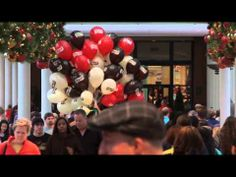 The cheesecake Factory in america handed out balloons to people in the street with the words'Pop Me' on them. Once popped, the balloons (according to color) would reveal the scent of Peppermint Bark Cheesecake (for red), Chocolate Tuxedo Cream Cheesecake (for brown) or Original Cheesecake (for cream). Clever idea that make people remember the taste of their cake without having it. also a free voucher was in each ballon!