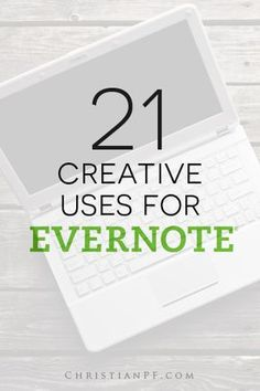 How To Use Evernote: 21 Creative Uses . One of the biggest challenges I have when it comes to organizing is what to do with the stuff I want to keep but do not need right now. All that changed for me about two years ago when I started using Evernote. Inbound Marketing, Content Marketing, Media Marketing, Digital Marketing, Apps, Excel Design, Business Tips, Online Business, Discipline