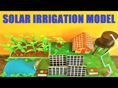 solar irrigation model for science exhibition(renewable energy) Science Exhibition Projects, Science Project Models, School Science Projects, School Fun, Solar Energy, Bedroom Decor, Videos, Youtube, Crafts