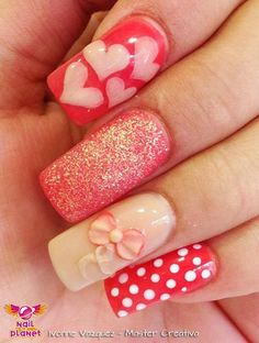 Love the one with the hearts. beautiful