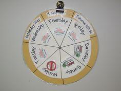 Using Calendars in Preschool::Teaching The Little People