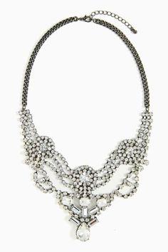 Opulence Crystal Necklace