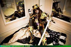 h2g-tesscosplay's Vampire Hunter D cosplay...heeeere Edward Edward Edward...