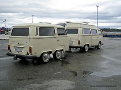 VW Camper Van and Matching Trailer by theignitionpoint.co.uk, via Flickr