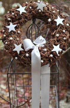 Vánoční věnec průměr 33 cm