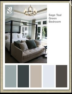 master bedroom colors | Master bedroom color palette | Paint Colors I LoVe